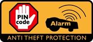 Código PIN de segurança