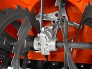 Caixa de velocidades do perfurador de ferro fundido