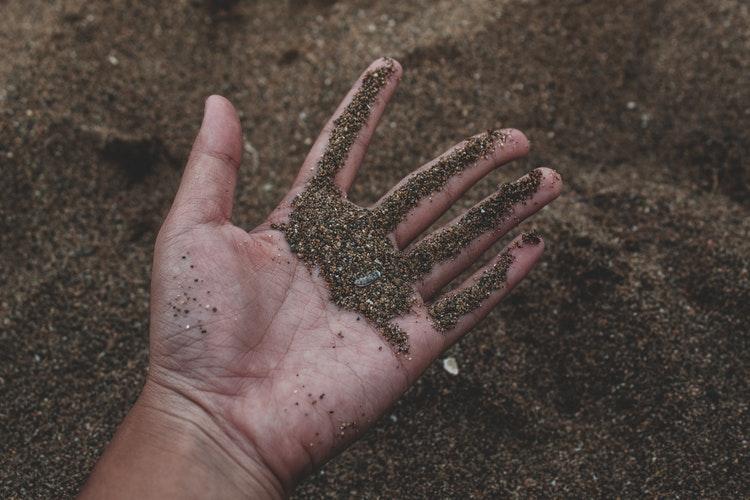 solo arenoso - areia