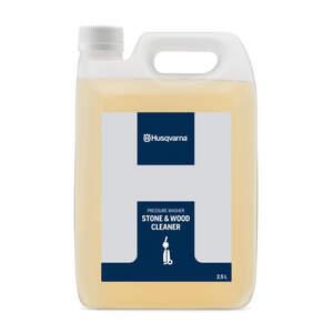 Detergente de limpeza de superfícies com pedra ou madeira - Husqvarna