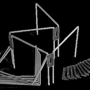 Arcos de cerca temporária