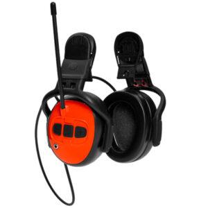 Protectores auriculares com rádio fm